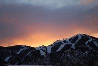 Sunset over Baldy