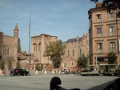 ALBI  FRANCE.  in  southern  France  on  the  river  Tarn.