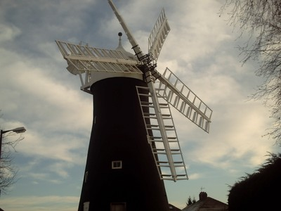 HOLGATE WINDMILL 5 SAILS LAST IN ENGLAND