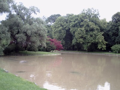 MUNICH,  GERMANY.  --    Englisher  Garten.