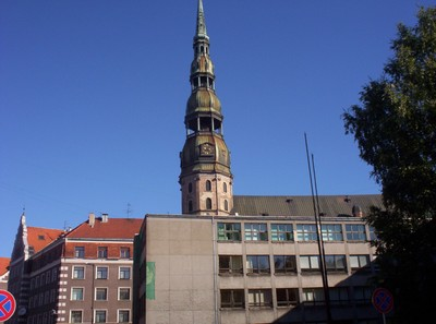 RIGA  LATVIA.   St Peters.