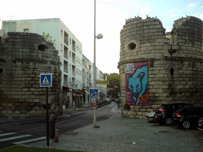 ARLES,  FRANCE.   -- Cavalry  Gate.     Northern  entrance.