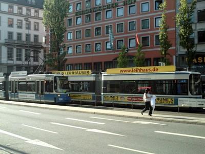 MUNICH  GERMANY   Tram.