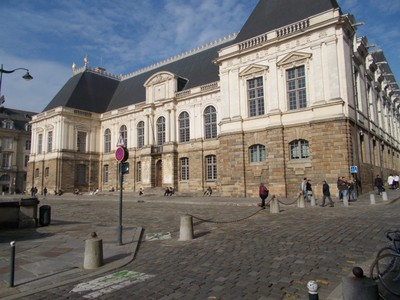 RENNES,  FRANCE   -.Parlement De Bretagne,   17th  century  building.
