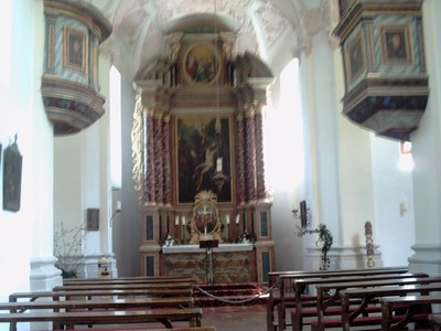 LAKE  KONIGSSEE,GERMANY.  --  St  Bartholoma  little  chapel.