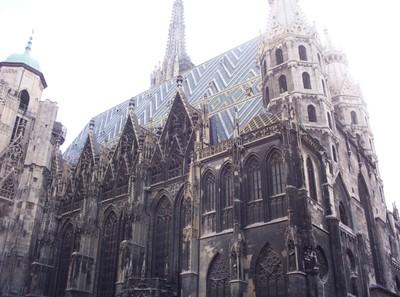 CathedraL Vienna   AUSTRIA.