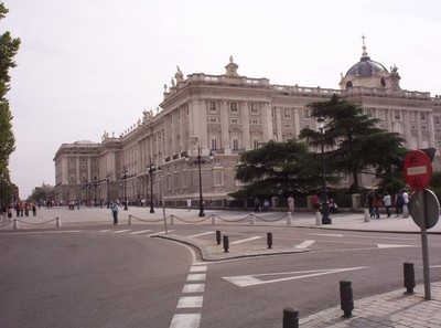 SPAIN  MADRID    Royal  Palace.