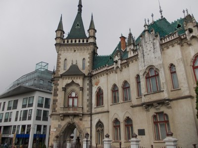 KOSICE,a city in Eastern Slovakia, near the border with Hungary.