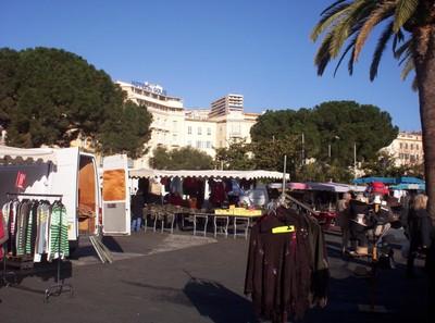 AJACCIO CORSICA    Market.
