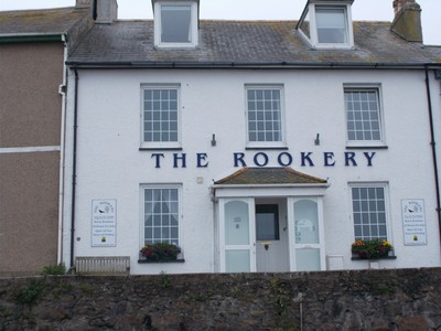 ST.IVES CORNWALL.  Rookery Guest House,looks over the St.Ives Bay.