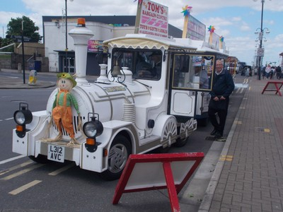 CLEETHORPES  Toy train.