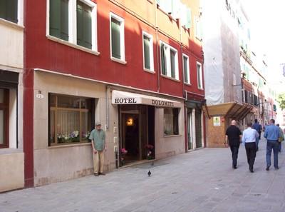 VENICE  ITALY.  Budget Hotel.