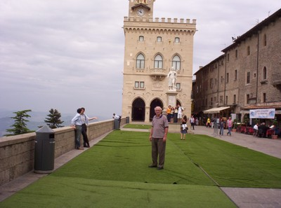 SAN MARINO   Palazzo Pubblico .