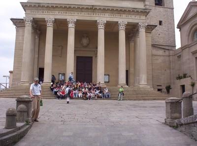 SAN MARINO.  Cathedral.
