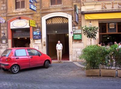 ROME  ITALY.    Budget  Hotel.