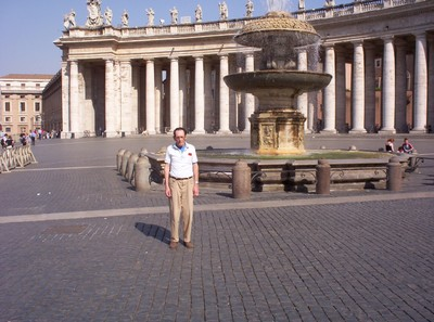 VATICAN CITY,,  St, Peters square, early morning.