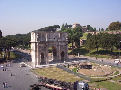 ROME  ITALY.  Arch of Constantine.