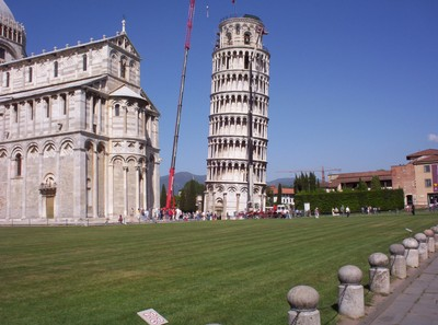 PISA  ITALY.  Leaning  Bell Tower.