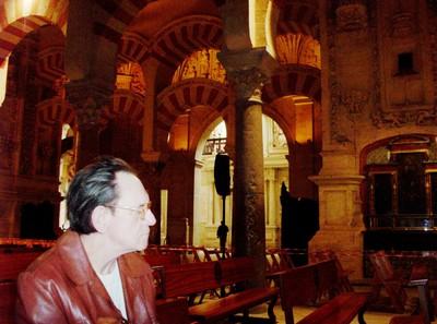 CORDOBA  SPAIN.   --  Inside Metquita-Catedral,.