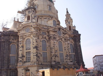 DRESDEN GERMANY.    Frauenkirche.  Luthern Church.- some call Cathedral