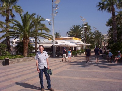 SALOU  SPAIN.   Near  marina.
