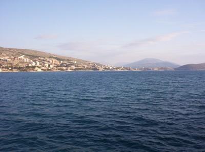 IONIAN SEA OF ALBANIA.