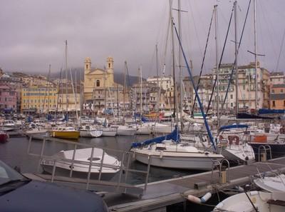 BASTIA CORSICA.    Vieux Port.