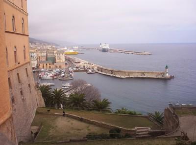 BASTIA CORSICA.   View from Citadella.