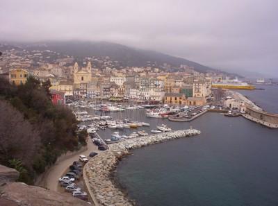 BASTIA CORSICA  View fro Citadella.
