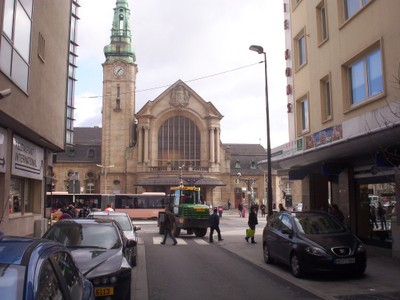 LUXEMBOURG CITY      Rail Station.