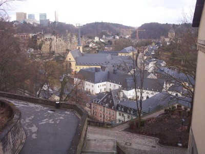 LUXEMBOURG  CITY.----  Lower city.