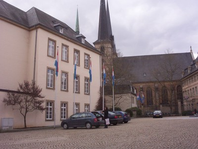LUXEMBOURG  CITY.        Cathedral