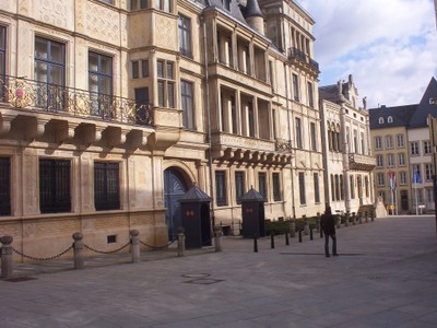 LUXEMBOURG  CITY.    Ducal  Palace.  The Official residence of the Grand Duke Of Luxembourg ,as head of State.