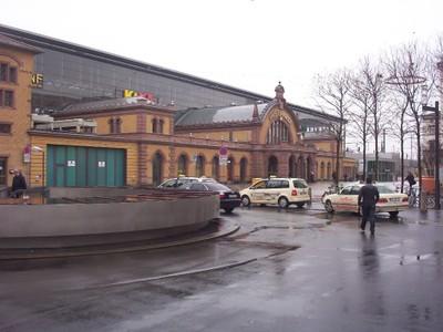 GERMANY  ERFURT........Railway Station.