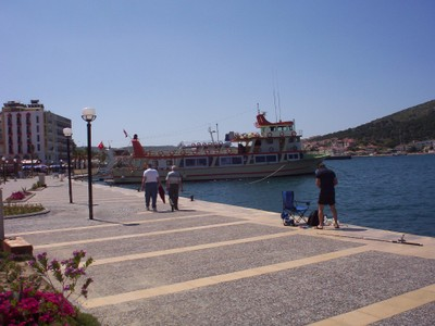 TURKEY  CESME.      My hotel to left.