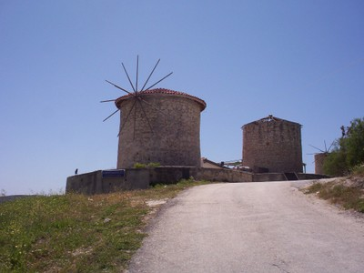 TURKEY  ALCATI.       Windmills.
