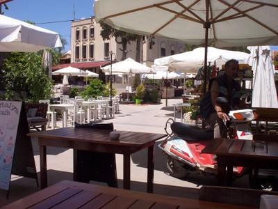 TURKEY  ALCATI ....Nice place for a glass of Tea.