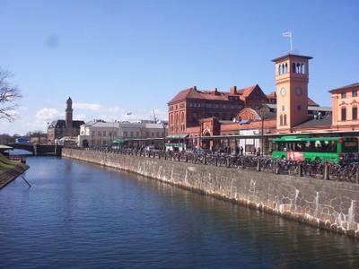 MALMO SWEDEN.  Rail station.