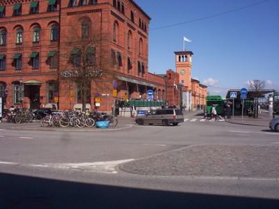 MALMO SWEDEN.  Central rail station.