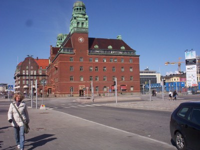 MALMO SWEDEN.  Old Postal House.