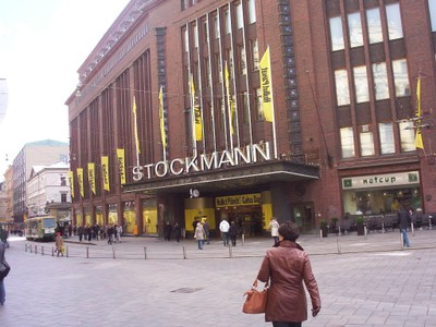 HELSINKI  FINLAND.  Department Store.,founded in Helsinki  158 years ago in 1862.