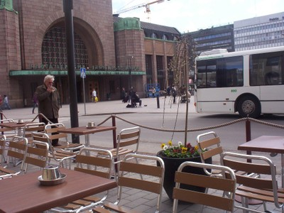 HELSINKI  FINLAND.   Railway station.