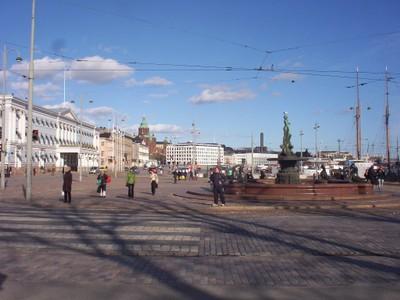 HELSINKI  FINLAND.  Senate Square.