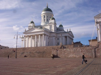 HELSINKI  FINLAND.  Cathedral,  Finnish Evangelical Luthern Church.