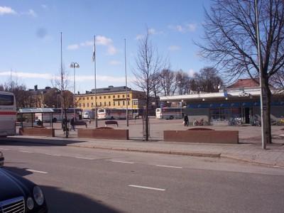 PORVOO   FINLAND.     Bus station.