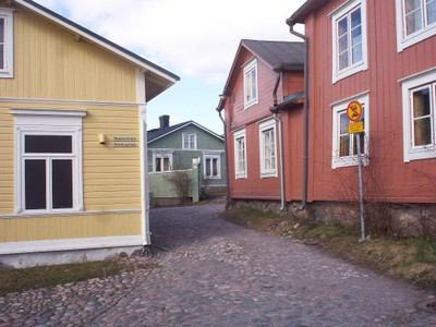 PORVOO  FINLAND    Wooden houses.