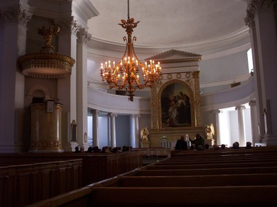 HELSINKI  FINLAND.. Luthern Cathedral.