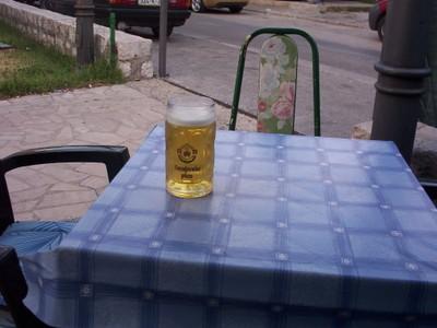 MOSTAR,  BOSNIA  HERZEGOVINA..  Pivo   (beer)  5%
