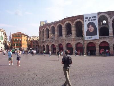 VERONA  ITALY.  Roman Arena.