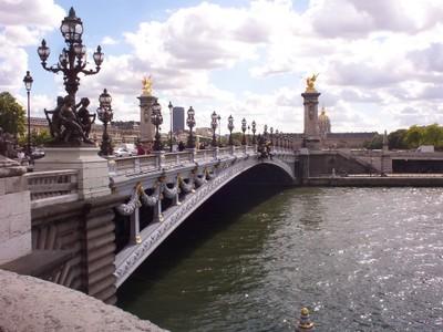 PARIS  FRANCE  --Ponte  Alexandre 111